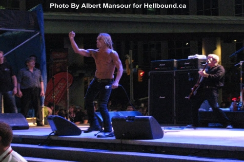 Iggy & The Stooges live at NXNE