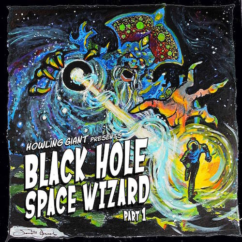cover of Black Hole Space Wizard part 1