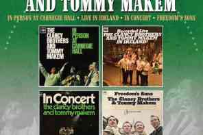The Clancy Brothers & Tommy Makem – four-album collection (1963-1967)