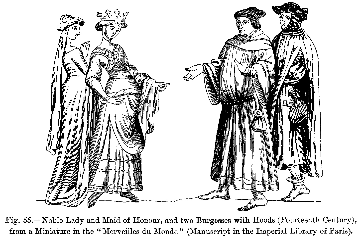 Manners, Custom and Dress During the Middle Ages and