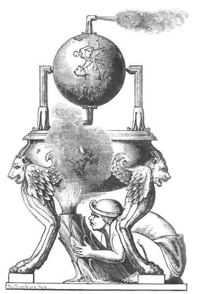 Heron Steam Engine Drawings