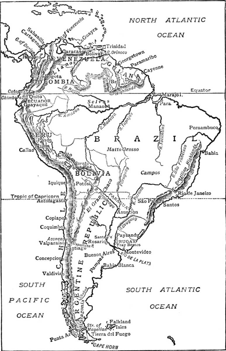 South America, W. H. Koebel