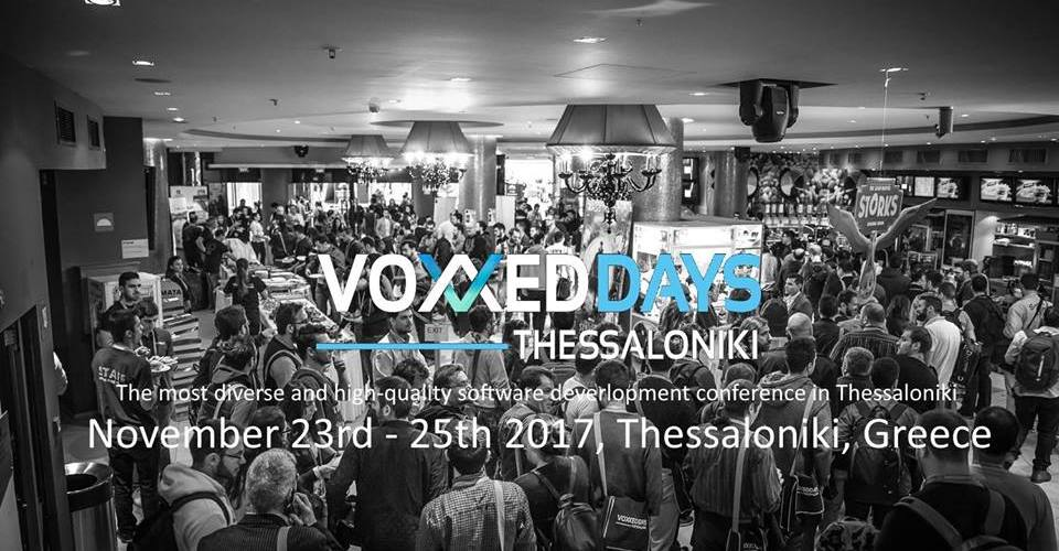 second day Voxxed Days Thessaloniki