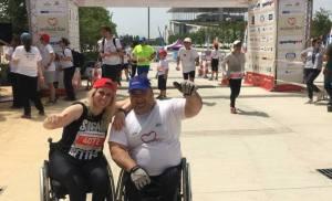 Η Παραολυμπιονίκης Κέλλυ Λουφάκη στέλνει το δικό της μήνυμα για το No Finish Line:  Τρέχουμε για έναν κόσμο ισόνομο