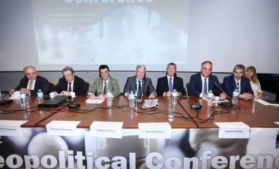 Το 1st Geopolitical Conference έλαβε χώρα στο Conference Centre του War Museum