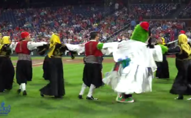 AHI Greek Heritage Night at the Philadelphia Phillies 2018 video