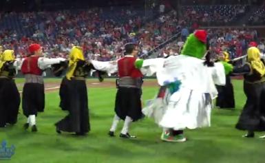AHI Greek Heritage Night at the Philadelphia Phillies 2018 video