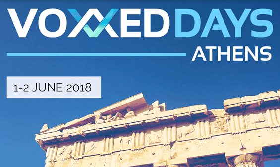 what we saw at the conference voxxed days athens 2018
