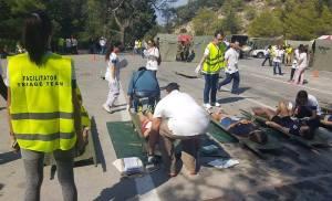 Για 3η συνεχή χρονιά πραγματοποιήθηκε στη Ρόδο μια σειρά Ασκήσεων στα πλαίσια πρόληψης και αντιμετώπισης καταστροφών (τρομοκρατία, σεισμός, δασική πυρκαγιά, τσουνάμι)