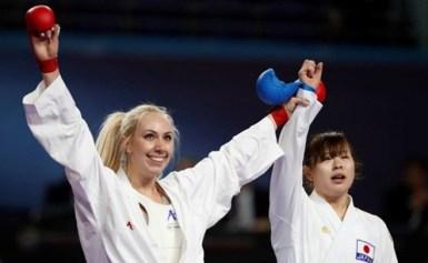 Τεράστια επιτυχία για το ελληνικό καράτε, καθώς η Ελένη Χατζηλιάδου ανέβηκε στο ψηλότερο σκαλί του βάθρου στο Παγκόσμιο Πρωτάθλημα της Μαδρίτης