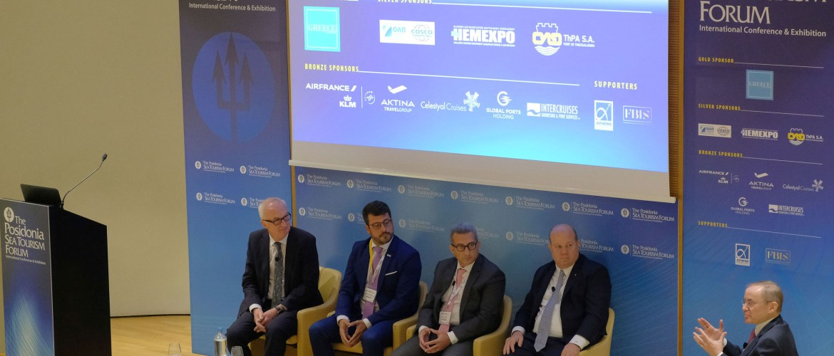 GREECE'S CRUISING PROSPECTS POSITIVE DESPITE OF REGIONAL GEOPOLITICAL CHALLENGES THE KEY MESSAGE AT THE 5TH POSIDONIA SEA TOURISM FORUM