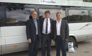 H Propeller Club-Port of Piraeus χορηγησε λεωφορείο 24 θέσεων για την κάλυψη των αναγκών της μαθητικής κοινότητας του Δήμου Δρόπολης