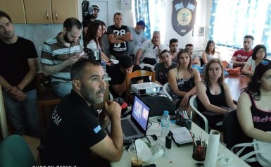 Σχολείο Εκπαίδευσης Υγρού Στοιχείου-ΙΕΚ ΌΜΗΡΟΣ στον Σύνδεσμος Ελλήνων Βατραχανθρώπων.