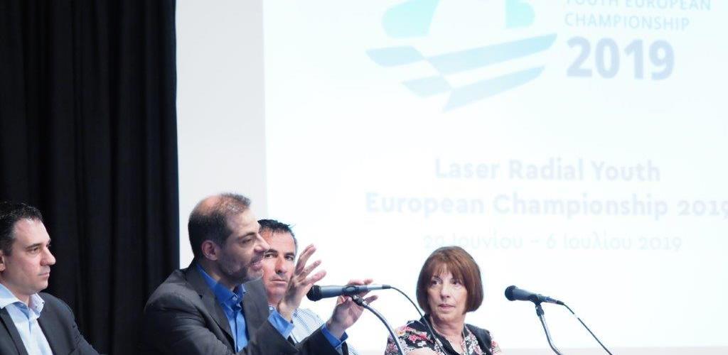 Ελάχιστες ημέρες έχουν απομείνει για την έναρξη του όπεν Ευρωπαϊκού Πρωταθλήματος νέων Radial της Ολυμπιακής Κατηγορίας Laser