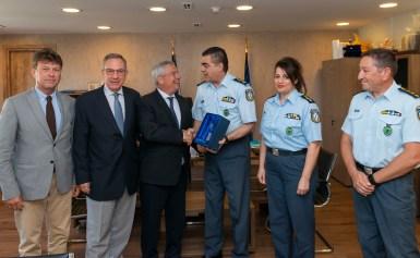 Προσφορά ηλεκτρονικού εξοπλισμού στην Ελληνική Αστυνομία από το Ίδρυμα Ευγενίδου