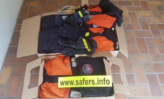 Safers e.V. – Support Association for Fire- and Rescue Services Χορηγια στην ομαδα ΟΜΑΔΑ ΕΘΕΛΟΝΤΩΝ ΜΕΓΑΡΙΤΩΝ (O.E.M)