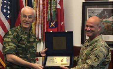 Επίσημη Επίσκεψη Αρχηγού ΓΕΣ στην Έδρα των Στρατιωτικών Δυνάμεων των ΗΠΑ στην Ευρώπη