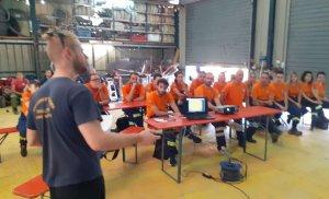 Στην εθελοντική πυροσβεστική ομάδα του Νέου Βουτζά συγκεντρώθηκαν οι εθελοντές της ΕΠ.ΟΜ.Ε.Α. Αιγάλεω