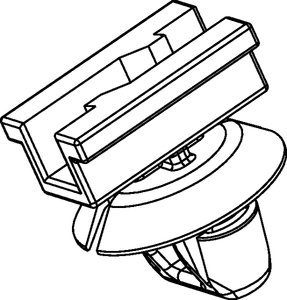 Connector Clips for oval holes CCAMPSFT7.0x12.0 (155-43802