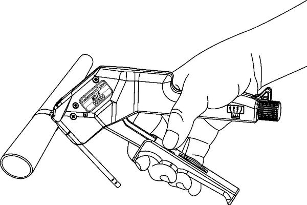 Utensile manuale per fascette in acciaio della serie MST-S