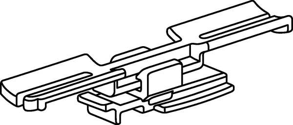 Bundling Clips for Connectors CONNECTOR CLIP (150-41397
