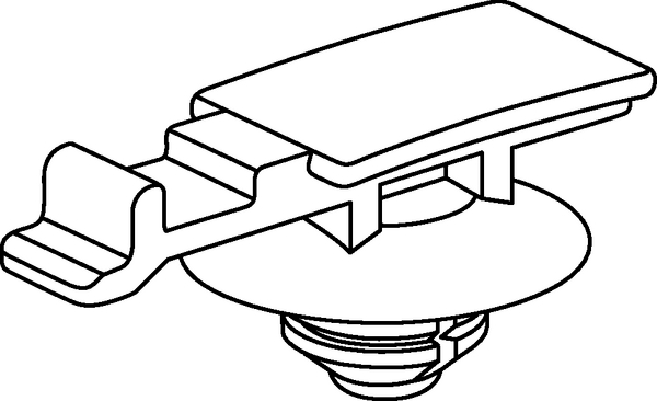 Connector Clips for round holes YCC-FT6-S (155-38102