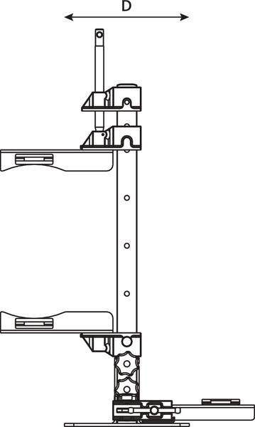 Universal Installation Bracket INSTALL-BRKT (857-40332