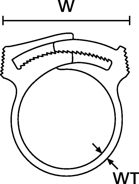 Snapper Hose Clips for Tubes and Harnesses SNP32 (192