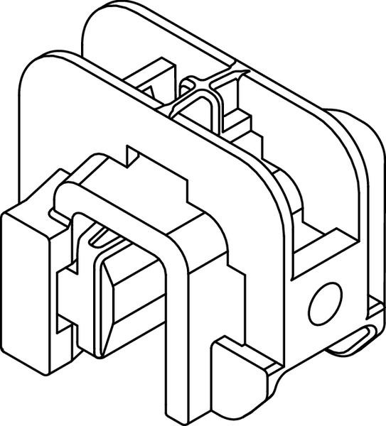 Heavy Duty Harness Clips Beam Clamp C (151-00823