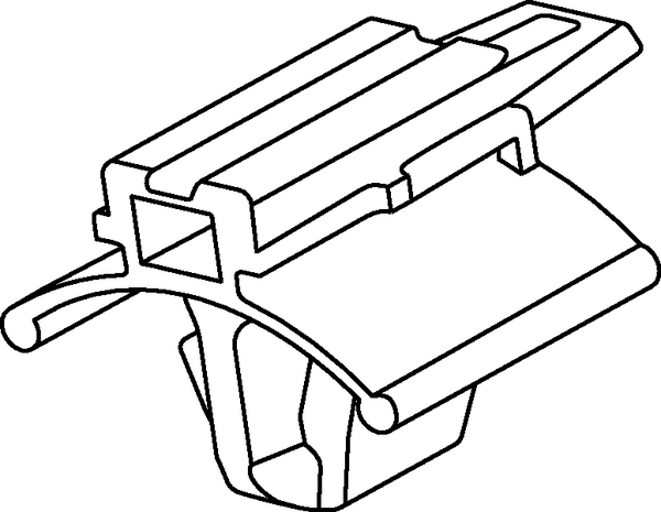 Connector Clips for Oval Holes CCIVSFT6.5x130 (133-00392