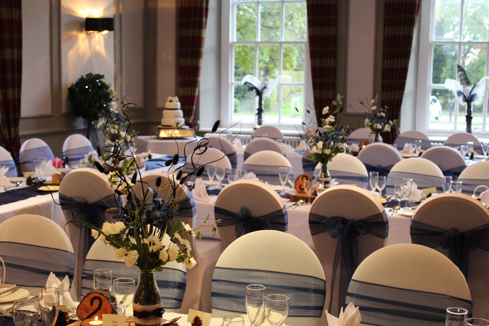 chair cover hire sheffield plaid wingback helles belles wedding