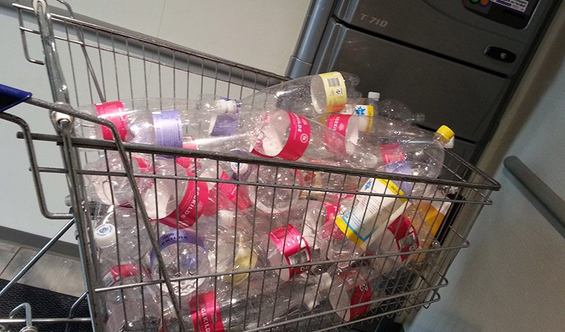 flaskeindlevering