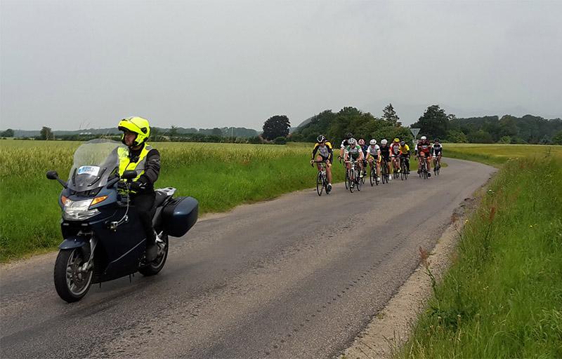 gruppemedcyklister