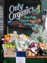 Økologiske varer er et must på Borough Market.
