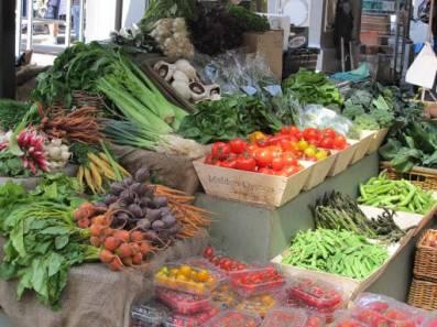 friske grønnsaker.