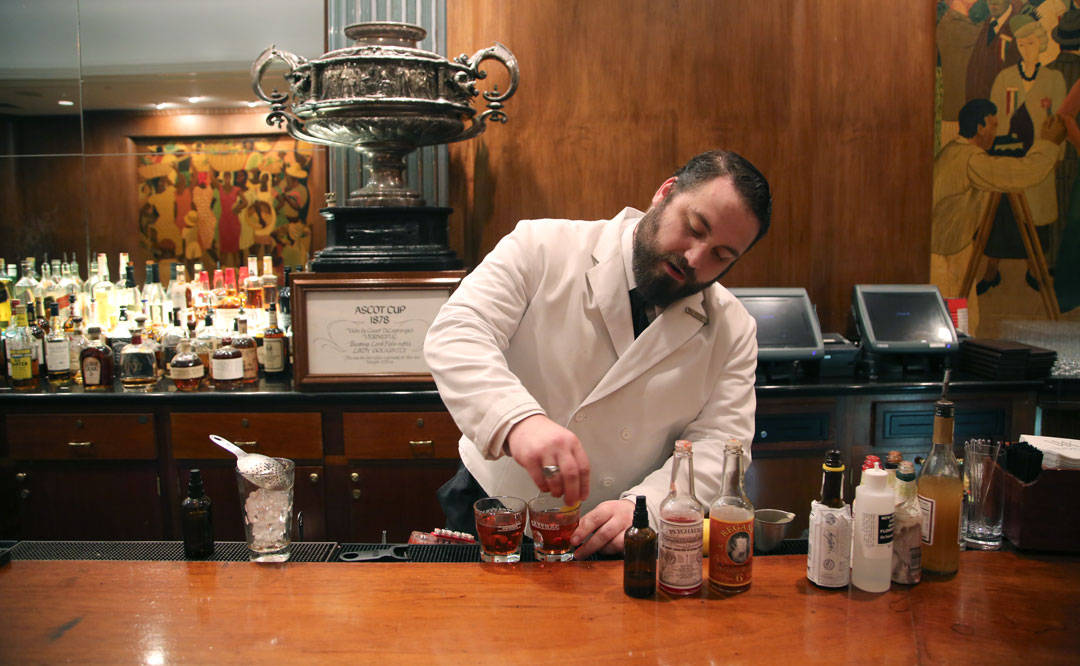 The Sazerac Bar. Foto: Erik Valebrokk