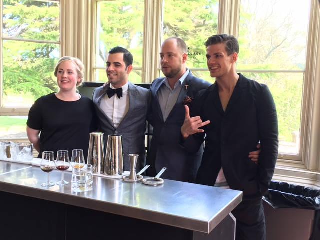 De norske kandidatene: Kim Elise, Antonio, Chris og Radoslov
