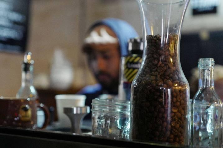 Kul kaffe har de selvsagt på Smorgasburg