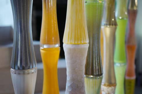 Disse fantastiske bambus-glassestengene er Antoine Pierinis nyeste prosjekt.