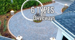6 Types of Driveways