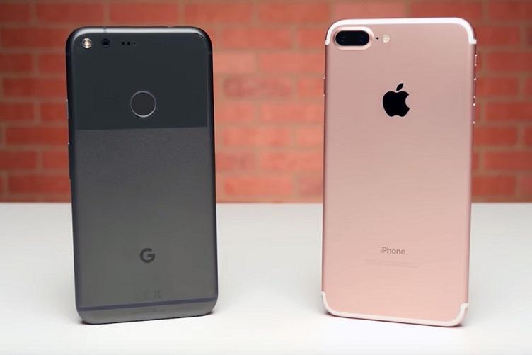 iPhoneGooglePizel