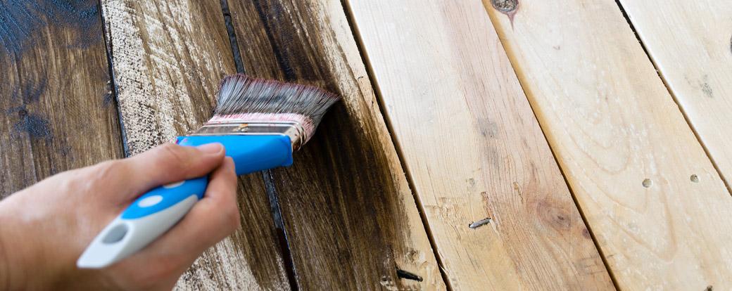 repeindre un meuble en bois notre