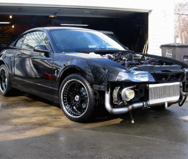 Hellion 1996 2004 Ford Mustang Twin Turbo System