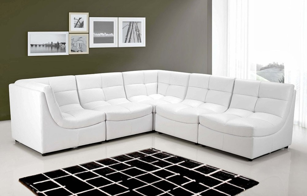 White Cloud Modular Sectional 6Pc