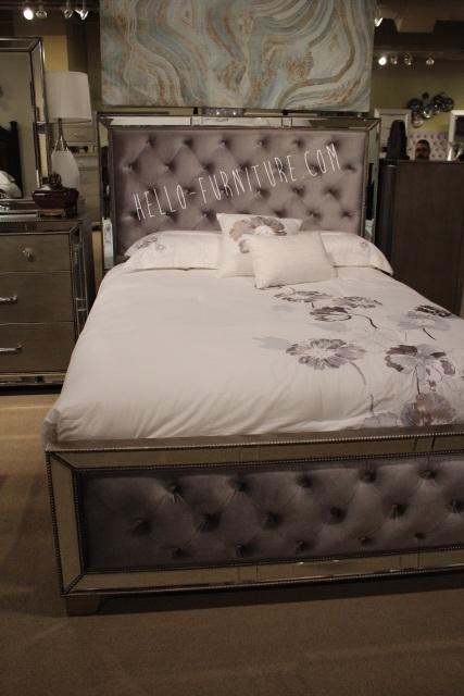 Cosette Mirrored Bed
