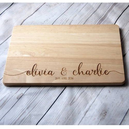 custom engraved cutting board christmas gift for husband