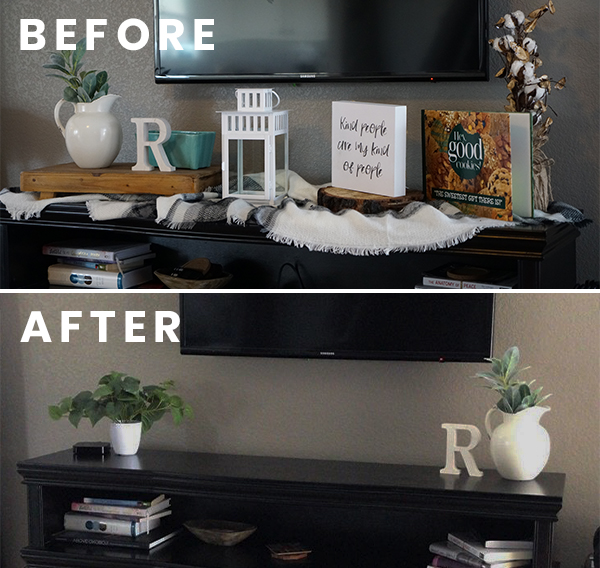 add open space when redecorating