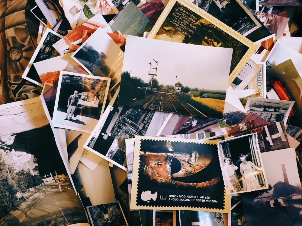 what to do with old photos when you declutter after college