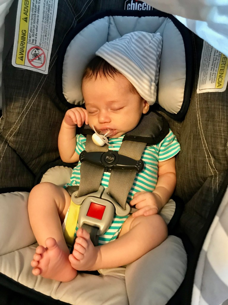 using pacifiers as a minimalist