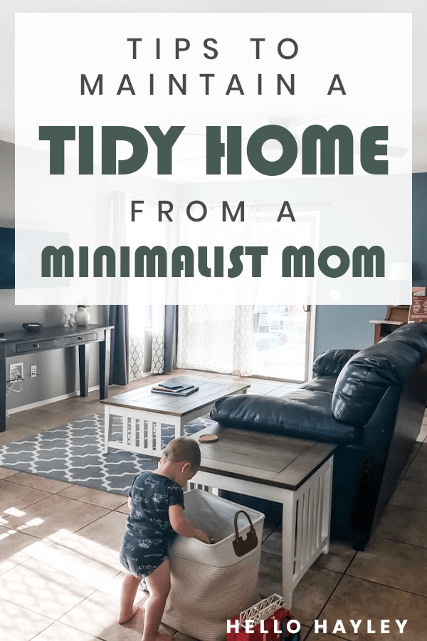 pinterest keep a tidy home